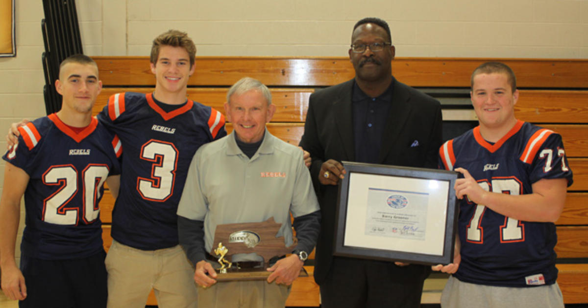 Barry Greener coach of week walpole