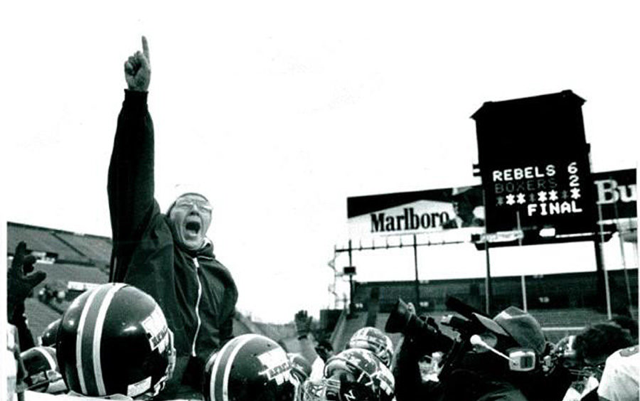 Coach John Lee Walpole Superbowl 1989