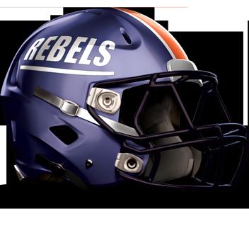 Walpole Rebels Football Helmet
