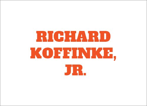Richard Koffinke Jr