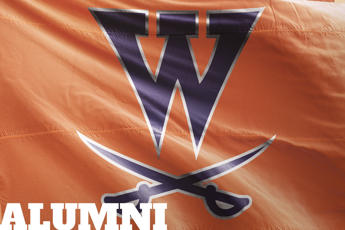 walpole high alumni flag
