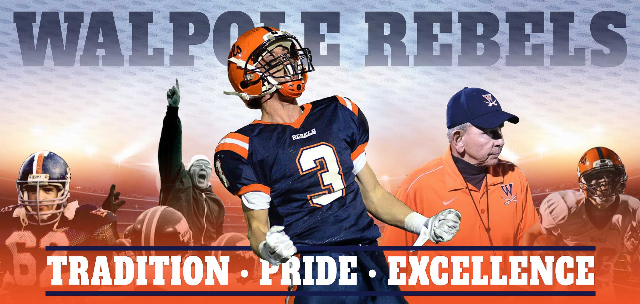 Walpole High Football Slider Slim